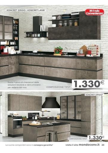 Mondo convenienza cucine in offerta - Prezzi Volantini ...