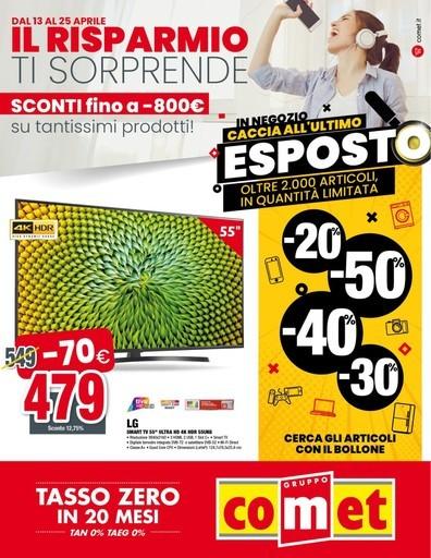 Volantino Comet a Pisa: offerte e negozi | VolantinoFacile.it