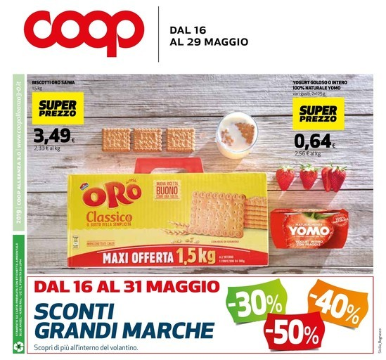 1491412afb9a Volantino Coop a Palermo  offerte e negozi