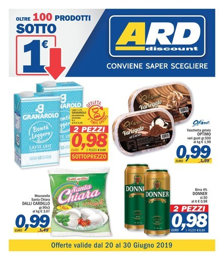 volantino deco a messina offerte e negozi ForVolantino Ard Discount Messina