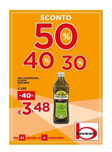 timeless design 2297c 6e89f Volantino Bennet a Verolengo: offerte e negozi ...