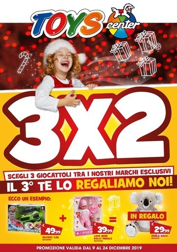 Volantino Catalogo Toys Center a Santalbano stura: offerte e
