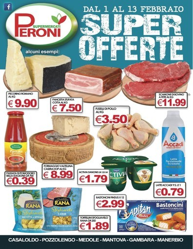 Volantino Vivo Supermercati a Verona: offerte e negozi ...