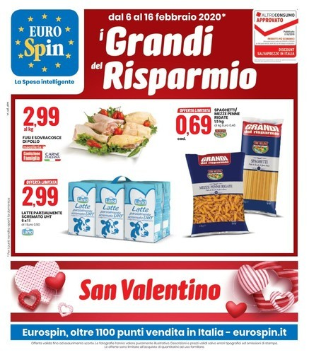 Volantino negozi Eurospin San bonifacioofferte a e zpVGqSUM